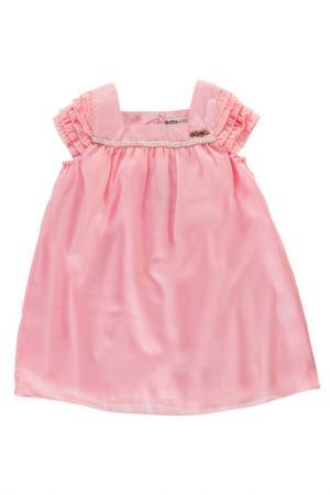 Платье Bodi Bear. Цвет: розовый