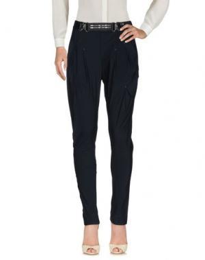 Повседневные брюки HIGH TECH. Цвет: темно-синий
