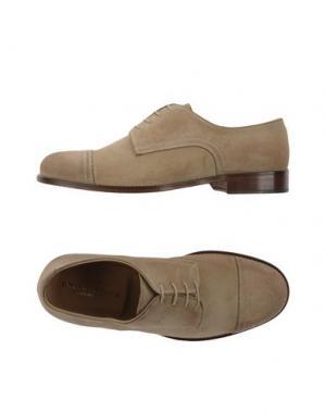 Обувь на шнурках BRIAN DALES. Цвет: бежевый