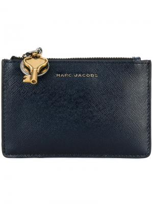 Кошелек с подвеской в форме ключа Marc Jacobs. Цвет: синий