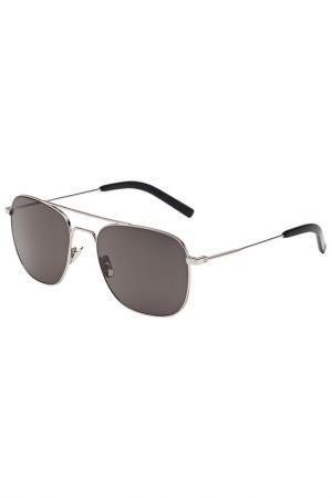 Солнцезащитные очки Saint Laurent. Цвет: 002