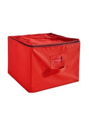 Бокс для елочных игрушек Heine Home. Цвет: красный