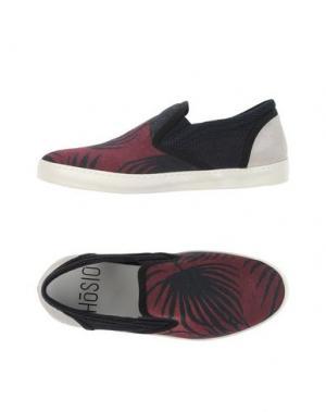 Низкие кеды и кроссовки HŌSIO. Цвет: красно-коричневый