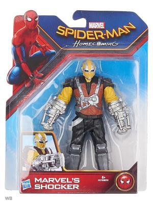 Фигурки паутинный город 15 см Spider-Man. Цвет: черный, желтый, коричневый