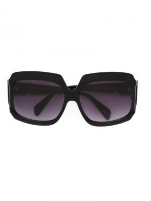 Солнцезащитные очки Labyrinth Sama Eyewear. Цвет: чёрный