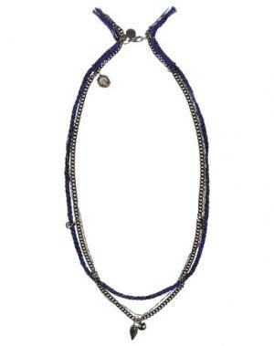 Ожерелье VENESSA ARIZAGA. Цвет: синий