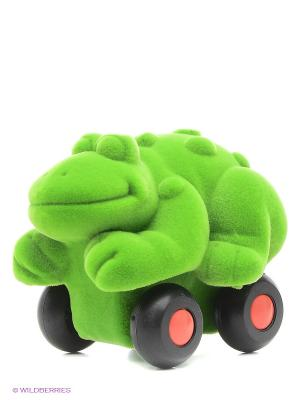 Лягушка. Rubbabu. Цвет: зеленый