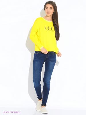Свитшот MEXX. Цвет: желтый