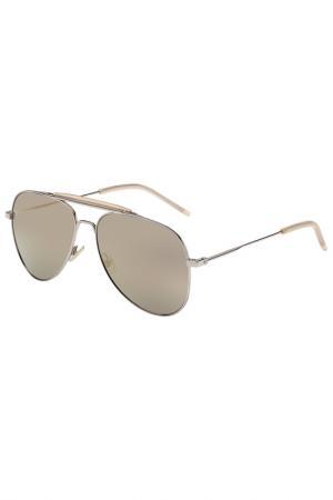 Солнцезащитные очки Saint Laurent. Цвет: 006