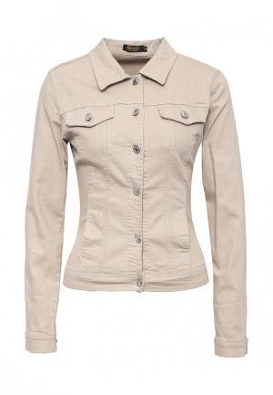 Куртка G&G. Цвет: бежевый