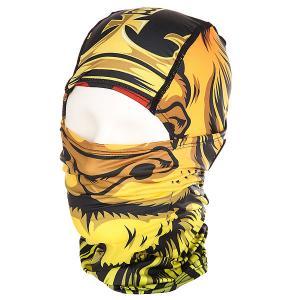 Балаклава  Samurai Balaclava Sc Lion God Celtek. Цвет: черный,зеленый,красный,оранжевый,желтый