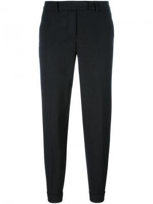Зауженные брюки Alberto Biani. Цвет: чёрный