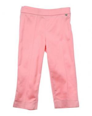 Повседневные брюки MICROBE. Цвет: светло-фиолетовый