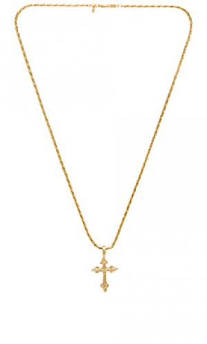 Ожерелье anastasia Vanessa Mooney. Цвет: металлический золотой
