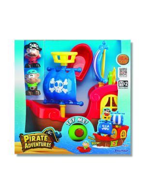 Игровой набор Приключения пиратов (свет звук) (мал.) Keenway. Цвет: синий, коричневый, красный