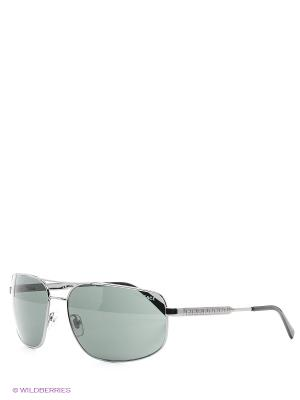 Очки солнцезащитные Versace. Цвет: серебристый