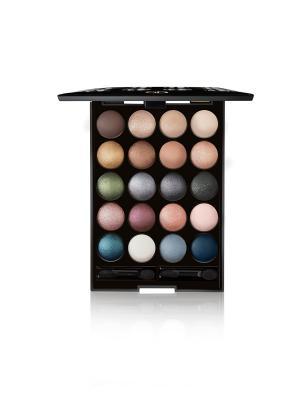 Набор для макияжа GOLDEN SHADOW GA-DE. Цвет: бежевый, розовый, золотистый, белый, черный, синий, зеленый, бирюзовый, серый, коричневый, фиолетовый