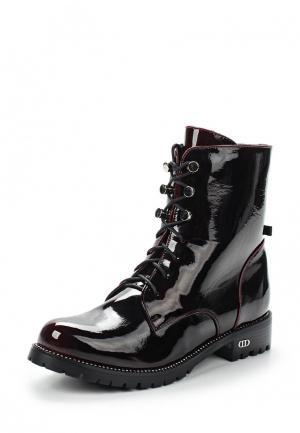 Ботинки Der Spur. Цвет: бордовый