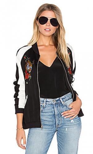 Куртка бомбер haven Lauren Moshi. Цвет: black & white