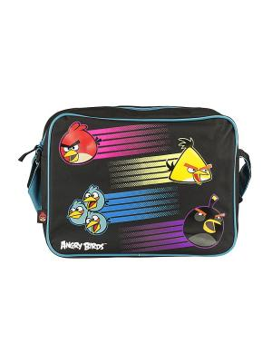Сумка Angry birds. Цвет: голубой, черный