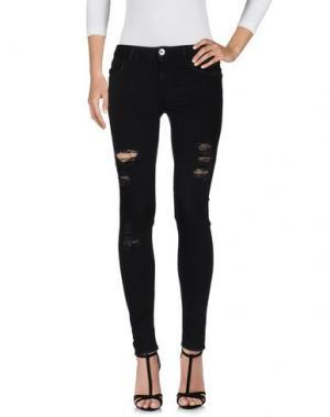 Джинсовые брюки HAIKURE. Цвет: черный