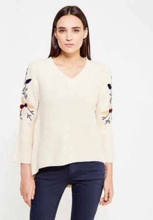 Пуловер Zeza. Цвет: бежевый