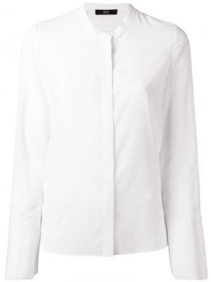 Классическая рубашка Steffen Schraut. Цвет: белый