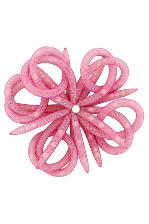 Брошь JANETE ZAMBONI. Цвет: розовый