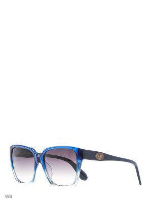Солнцезащитные очки LM 501 04 La Martina. Цвет: синий