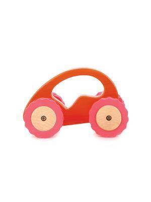 Машина Роли-Поли LUCY&LEO. Цвет: оранжевый
