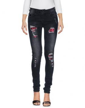 Джинсовые брюки !M?ERFECT. Цвет: черный