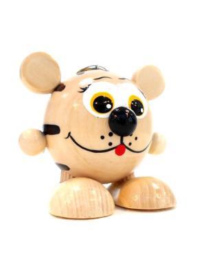 Игрушка подвеска на пружине - Тигрёнок Taowa. Цвет: кремовый