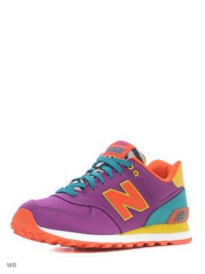 Кроссовки New Balance 574. Цвет: фиолетовый