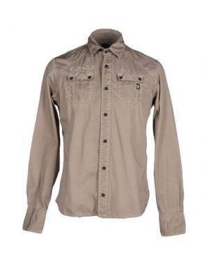 Pубашка DNM-BRAND. Цвет: хаки