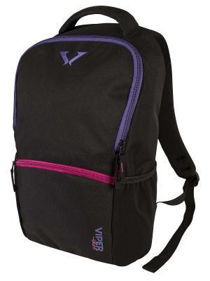 Рюкзак BLACK F.V. - 2 Target. Цвет: черный, темно-фиолетовый