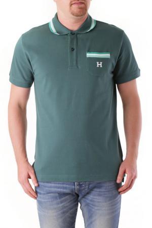 T-Shirt HUSKY. Цвет: green
