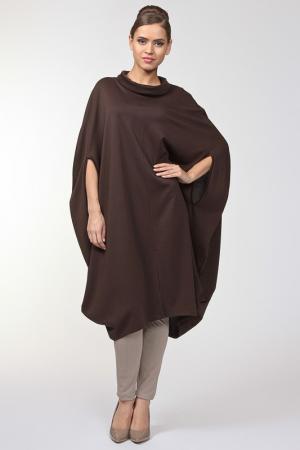 Платье Alina Assi. Цвет: коричневый