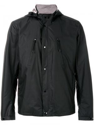 Куртка с капюшоном CP Company. Цвет: синий