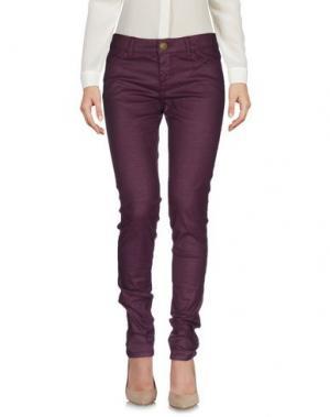 Повседневные брюки E_GO' SONIA DE NISCO. Цвет: баклажанный
