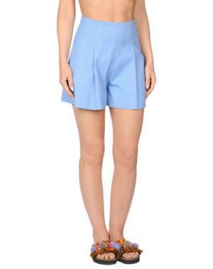 Пляжные брюки и шорты ERMANNO SCERVINO BEACHWEAR. Цвет: небесно-голубой