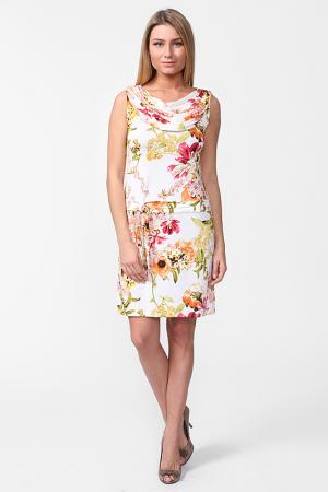 Платье Carla B. Цвет: белый