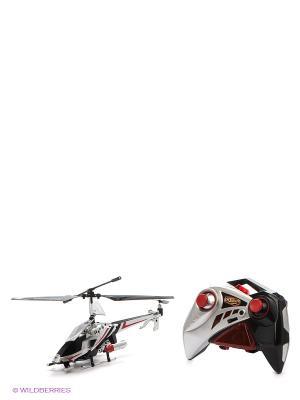 Вертолет на ИК управлении с гироскопом, 3 канала AULDEY. Цвет: серый