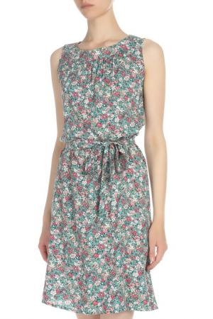 Свободное платье со съемным поясом VAY. Цвет: 30-ш4