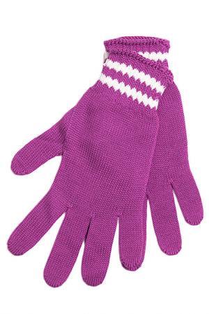 Перчатки U.S. Polo Assn.. Цвет: розовый