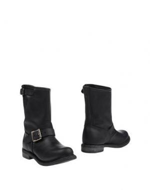 Полусапоги и высокие ботинки WALKER. Цвет: черный