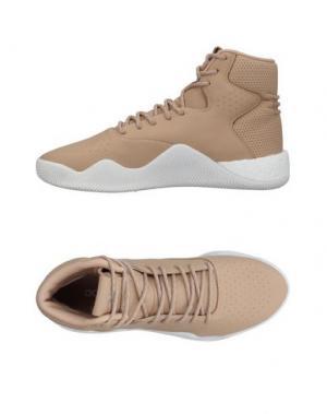 Высокие кеды и кроссовки ADIDAS ORIGINALS. Цвет: песочный