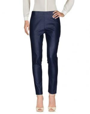 Повседневные брюки COCCAPANI TREND. Цвет: темно-синий