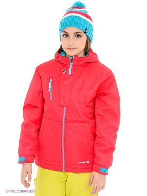 Куртка AlpinePRO. Цвет: малиновый