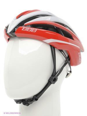 Шлем BBB. Цвет: красный