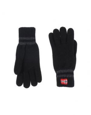 Перчатки NAPAPIJRI. Цвет: черный
